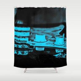 Lucille's cousin Bernice Shower Curtain