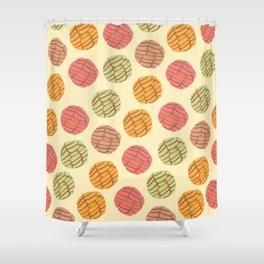 Concha Pattern Shower Curtain
