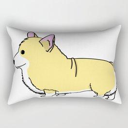 Carl the Cartoon Corgi Rectangular Pillow