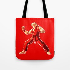 Street Fighter II - Ken Tote Bag