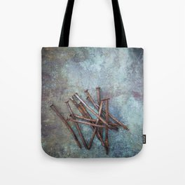 a bunch of nails Tote Bag