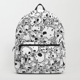 All-Over Skulls Backpack