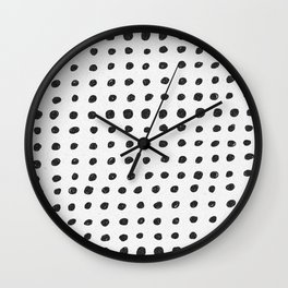 Scribble Dots Wall Clock