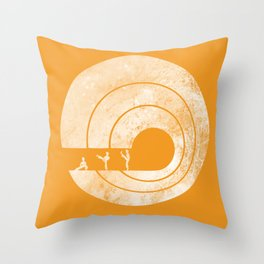 Kung Fu Master Throw Pillow