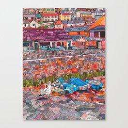 Harbour Bright Canvas Print