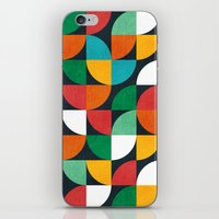 pie iPhone & iPod Skins featuring Pie in the sky by Picomodi