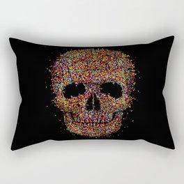 Acid Skull Rectangular Pillow