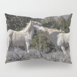 Wild Horses with Playful Spirits No 7 Pillow Sham