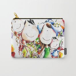 Happy family Carry-All Pouch