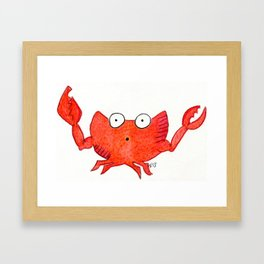 Imitation Krab Framed Art Print