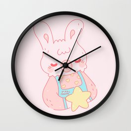 Mamá Conejo Wall Clock