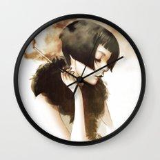 Overwhelmed Wall Clock