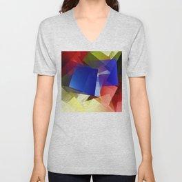 Geometric harmony. For Paul klee Unisex V-Neck
