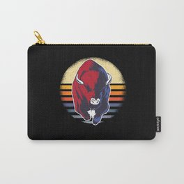 Bison Drawing Carry-All Pouch