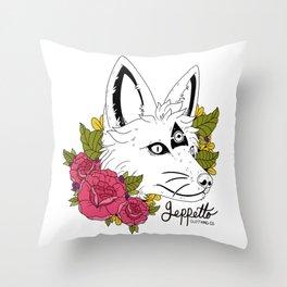Geppetto Tri-Fox Throw Pillow