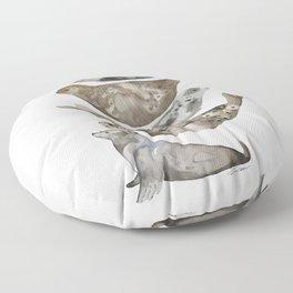Seals of La Jolla Floor Pillow