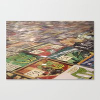 comics Canvas Prints featuring Comics by 1000 Words