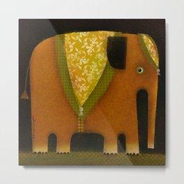 ELEPHANT ATTIRE Metal Print
