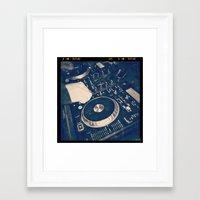 dj Framed Art Prints featuring DJ by Photography By JMAC