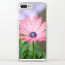 Twin osteospermum flowers Clear iPhone Case