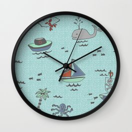 Yo HO HO Wall Clock