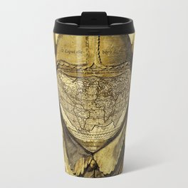 Fool's Cap Map of the World Travel Mug