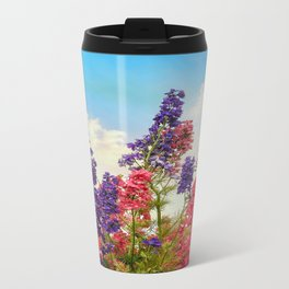 Delphiniums Travel Mug