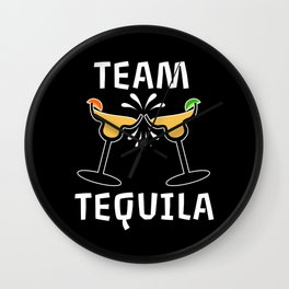 Team Tequila Group Partnerlook Wall Clock