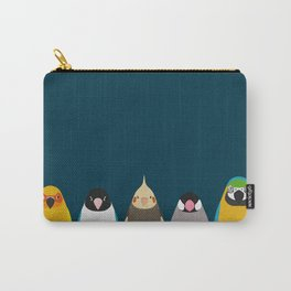 Five birds - tori no iro Carry-All Pouch