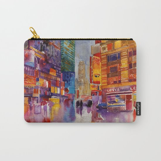 Walk in New York Carry-All Pouch