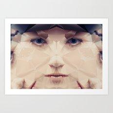 Facet_AB2 Art Print