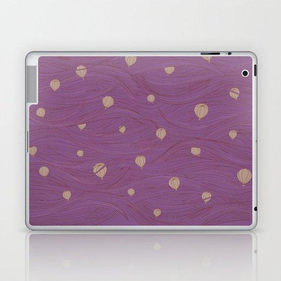 a clear day at dusk Laptop & iPad Skin