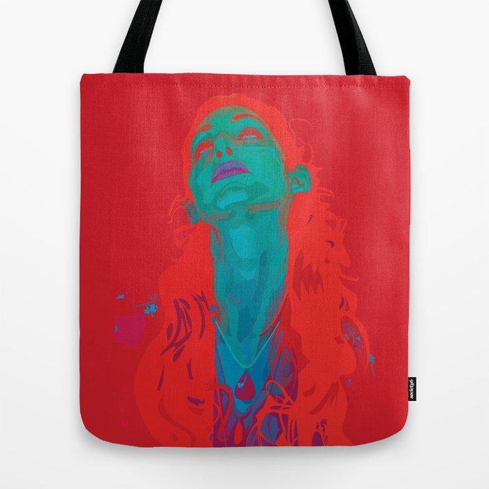 I Sea Red Tote Bag