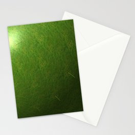 grass sphere Stationery Cards