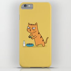 Foodie Cat Slim Case iPhone 6 Plus