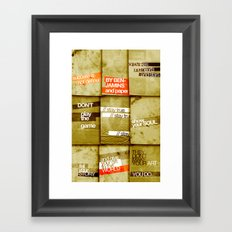 art 2 Framed Art Print