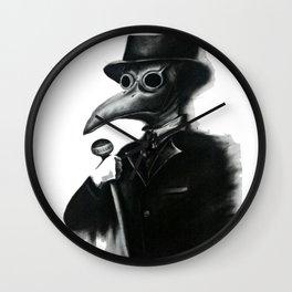 Medico Peste Negra Wall Clock
