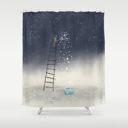 Harvesting Stars Shower Curtain