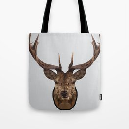 Low Poly Wild Stag Tote Bag