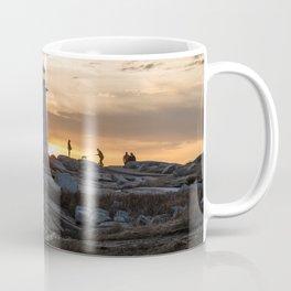 Peggys Point sunset walk Coffee Mug