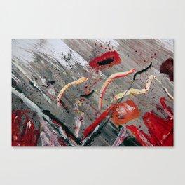 100 Prozent Kunst 4 Canvas Print