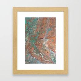 """Copperopolis"" by Laurie Ann Hunter Framed Art Print"