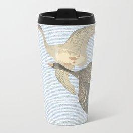 Nothing to match the flight of wild birds flying Travel Mug