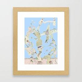 oohh... Framed Art Print