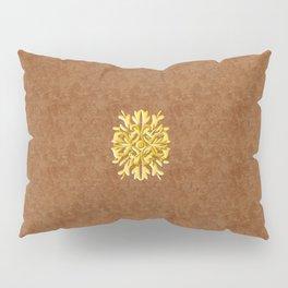 """""""Marron Doré"""" Pillow Sham"""