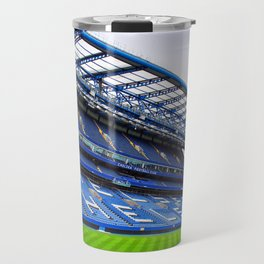 Stamford Bridge West Stand Chelsea Travel Mug