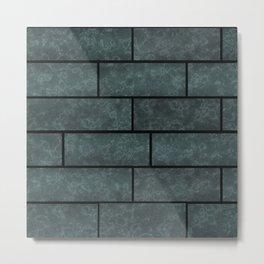 Brick wall, brick Metal Print