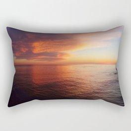 Mothership Sunset Rectangular Pillow