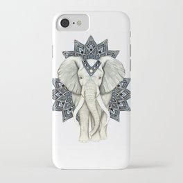 Zen Elephant Mandala iPhone Case
