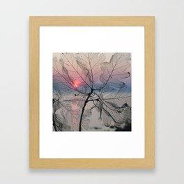 BEHIND THE SCENE Framed Art Print